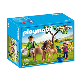 Playmobil Country 6949, Dyrlege med ponnier