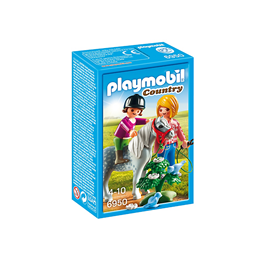 Playmobil Country 6950, Ponniridning med mamma