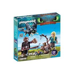 Playmobil Dragons - Hicke og Astrid med drageunge