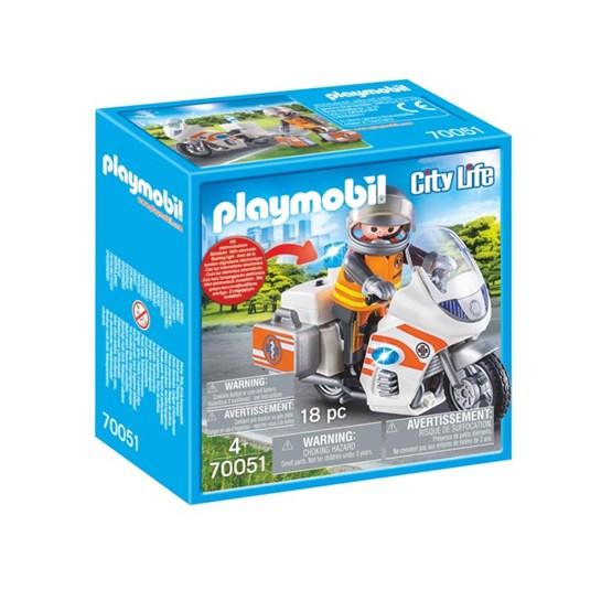 Playmobil City Life - Ambulansemotorsykkel
