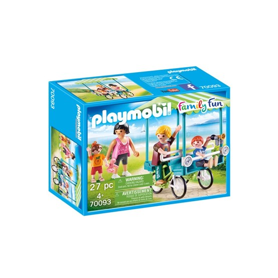 Playmobil Family Fun  - Familjesykkel