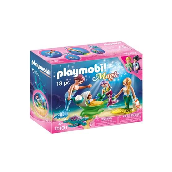 Playmobil Magic - Familie med sneglehusvogn