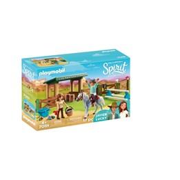 Playmobil Spirit - Ridearena med Lucky og Javier