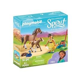 Playmobil Spirit - Pru med hest og føll