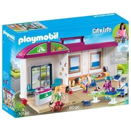 Playmobil City Life - Veterinærklinikk bærbar