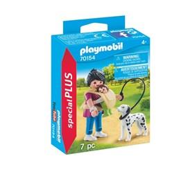 Playmobil City Life - Mamma med baby og hund