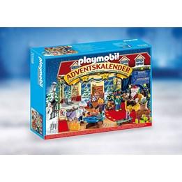 Playmobil Christmas - Adventskalender Nissens besøk i leketøysbutikken