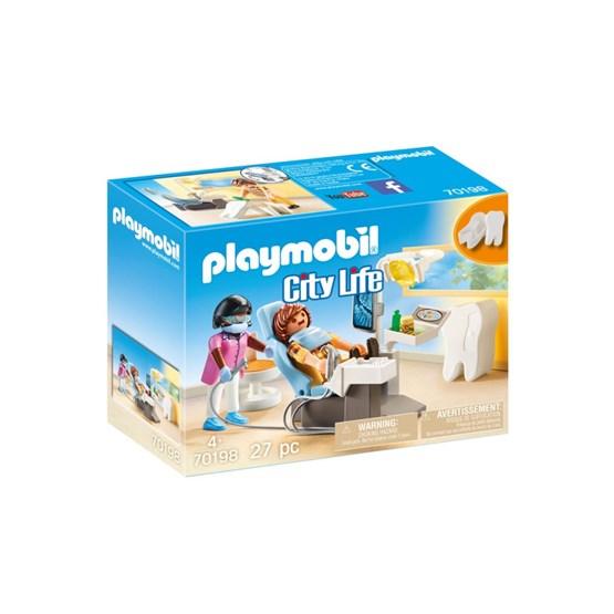Playmobil City Life - Tannlegens rom