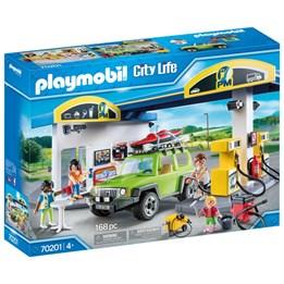 Playmobil City Life - Bensinstasjon
