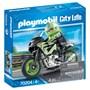Playmobil City Life - Motorsykkel med fører