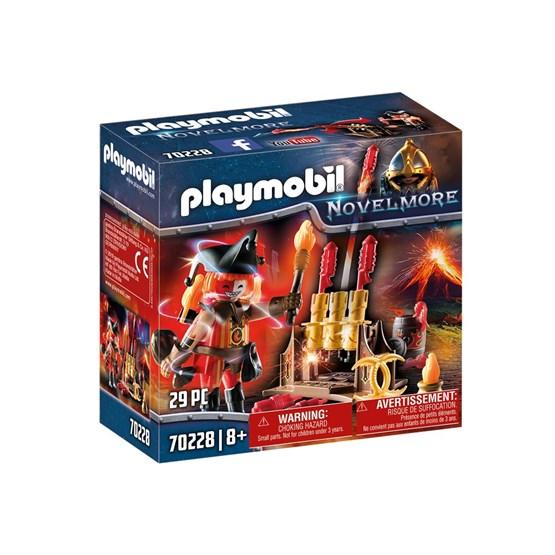 Playmobil Knights - Ildmester med fyrverkerikanon