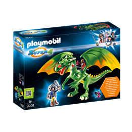 Playmobil Super 4 9001, Ridderland-drage med Alex