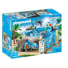Playmobil Zoo 9060, Akvarium