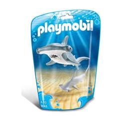 Playmobil Zoo 9065, Hammerhai med unge