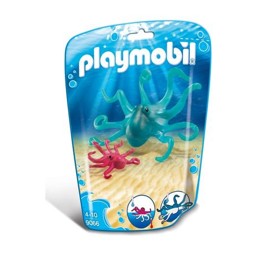 Playmobil Zoo 9066, Blekksprut med unge