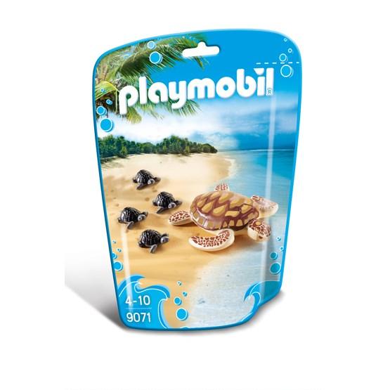 Playmobil Zoo 9071, Sjøskilpadde med unger