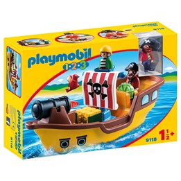 Playmobil 1.2.3 9118, 1.2.3 Piratskip