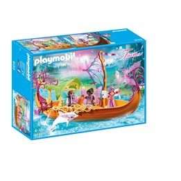 Playmobil Fairies 9133, Fortryllet båt med feer