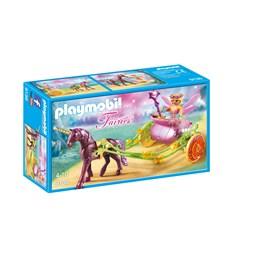 Playmobil Fairies 9136, Enhjørningtrukket fevogn
