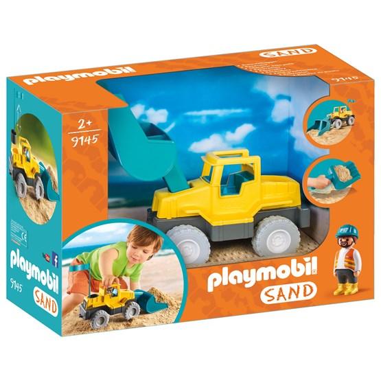 Playmobil Sand 9145, Gravemaskin