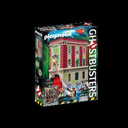 Playmobil Ghostbusters 9219, Ghostbuster brannstasjon