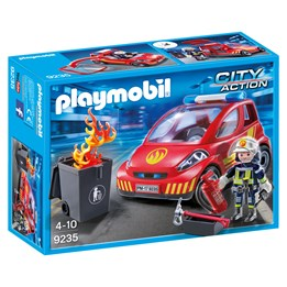 Playmobil, City Action 9235, Brannmann med bil