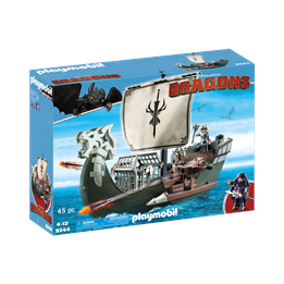 Playmobil Dragons 9244, Dragos skip