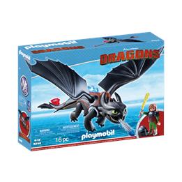 Playmobil Dragons 9246, Hicke og Tannløs