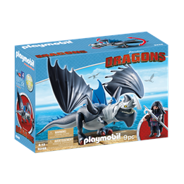 Playmobil Dragons 9248, Drago med pansret drage