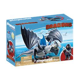 Playmobil Dragons 9248, Drago med pansret drage