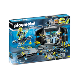 Playmobil Top Agents 9250, Dr. Drones kommandosenter