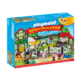 Playmobil 9262, Advent Calendar'Rideanlegg '