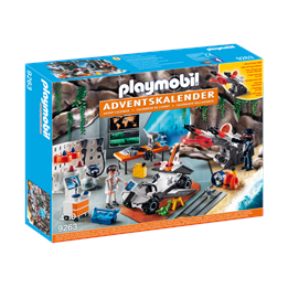 Playmobil 9263, Advent Calendar'Spy Team Workshop '