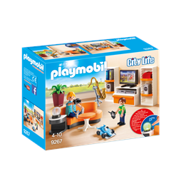 Playmobil City Life 9267, Stue