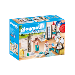 Playmobil City Life 9268, Baderom