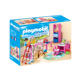 Playmobil City Life 9270, Barnerom