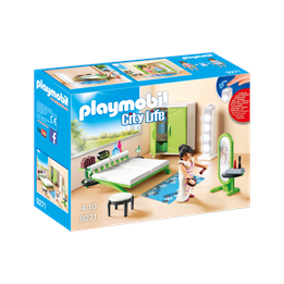 Playmobil City Life 9271, Soverom