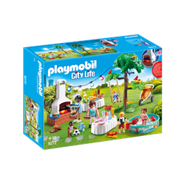 Playmobil City Life 9272, Innflyttingsfest
