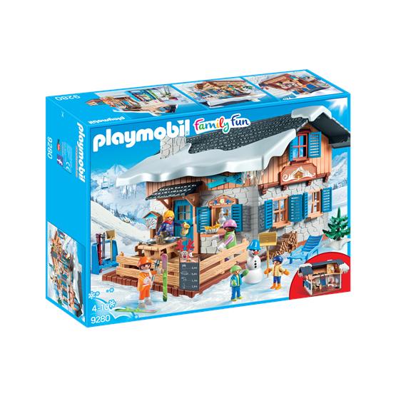 Playmobil Family Fun 9280, Skihytte