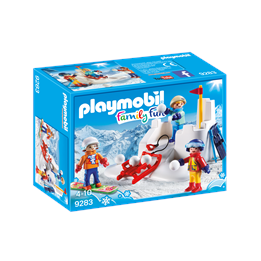 Playmobil Family Fun 9283, Sneballslag