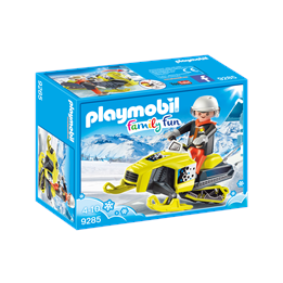 Playmobil Family Fun 9285, Snøskuter