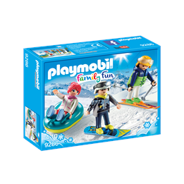 Playmobil Family Fun 9286, Vintersport på fritiden
