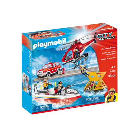 Playmobil, City Action - Brann og redningsett