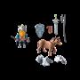 Playmobil, Knights - Dverg med stridshest