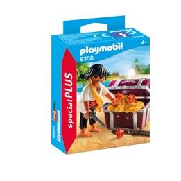 Playmobil, Pirates - Pirat med skattekiste