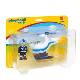 Playmobil, 1.2.3 - Politihelikopter