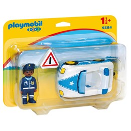 Playmobil, 1.2.3 - Politibil