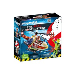 Playmobil, Real Ghostbusters Venkman with Helicopter 9385