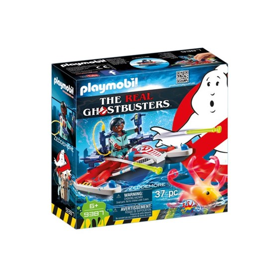 Playmobil, Real Ghostbusters Zeddemore with Jet Ski 9387