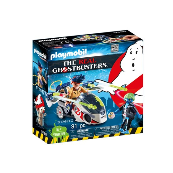 Playmobil, Real Ghostbusters Stantz with Skybike 9388